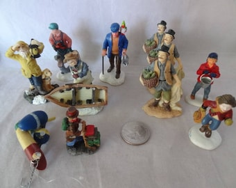 Craft Supplies - Miniature Nautical Figurines