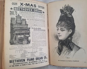 Godey's lady Book and Magazine, Volume CXIII, from July to December, 1886