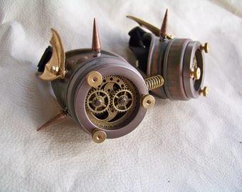 Steampunk Goggles- Demon Spawn