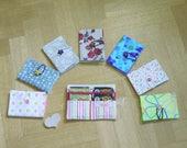 Tea bag holder DYI tutorial - sewing pattern - instant download - super easy ENGLISH - PDF - Tea wallet - Tea organizer - Reusable tea pouch