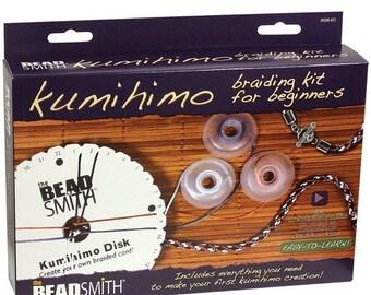 PRESIDENTS DAY SALE Beadsmith Kumihimo Braiding Starter Kit