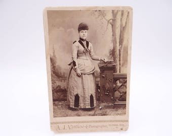 Antique 1890s A.J. Vanliew Ulysses Nebraska Photograph