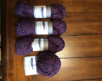 THE FIBRE CO. Arranmore, 4 skeins in the color of Corcoran! This is a lot of 4. Worsted or Aran Weight!