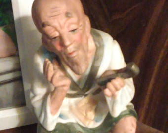 Ardco Vintage Asian Man Figurine