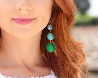 Bailey Bauble Earrings in Palm