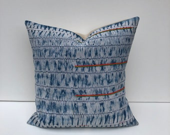Vintage Chinese Hmong batik pillow cover