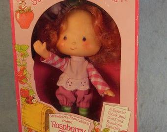 Vintage Strawberry Shortcake Doll-Raspberry Tart-Flat Hand-All Original-American Greetings-1979-