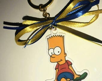 Bart simpson keychain