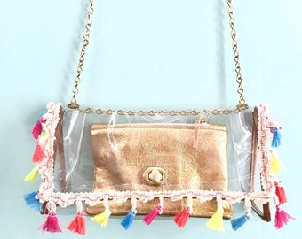 The Clearly Mad Crossbody | TASSEL