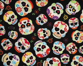 Pre-Order, Sugar Skulls, Cloth Diaper Wetbag, Diaper Pail Liner, Diaper Bag, Day Care Size, Bag with Handle