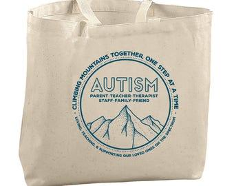 Autism Awareness Teacher Bag Special Education Teacher Gift Ideas Teacher Tote Bags for Teachers Occupational Speech Physical ABA Therapy