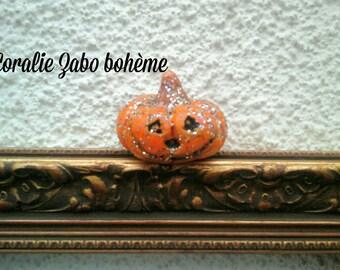Automne décoration-Petite citrouille céramique-citrouille halloween décorative originale faite-main
