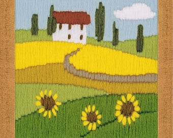 Sunflowers - Cross Stitch Kit from RIOLIS Ref. no.:1571