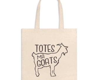 FREE SHIPPING-Market Bag-Totes Ma Goats Tote-Bags-Totes