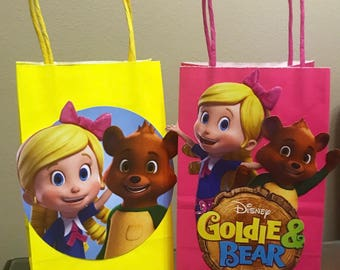 Goldie & Bear Party Bags