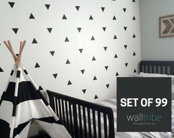 Marvelous SALE Wall Decor Stickers   Vinyl Wall Art   Vinyl Triangle Wall Art 0036 Part 20