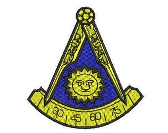 past master embroidery design