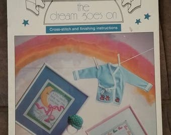The Dream Goes On Cross Stitch Book