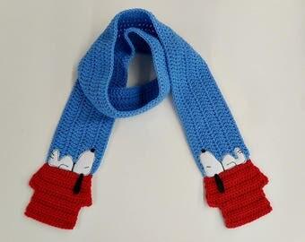 Crochet / Snoopy Scarf