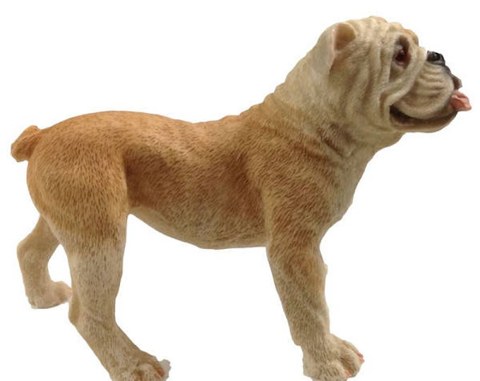Castagna Figurines Bull Dog, Stocking Stuffer, Gift For Christmas, Italy, Vintage Dog Statue
