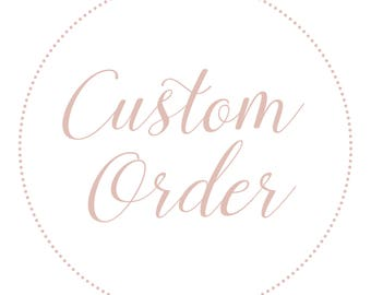 Custom Seating Chart Cards for Halla
