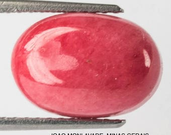 RHODONITE NATURAL MINED Untreated Specimen 11.10Ct  MF1813