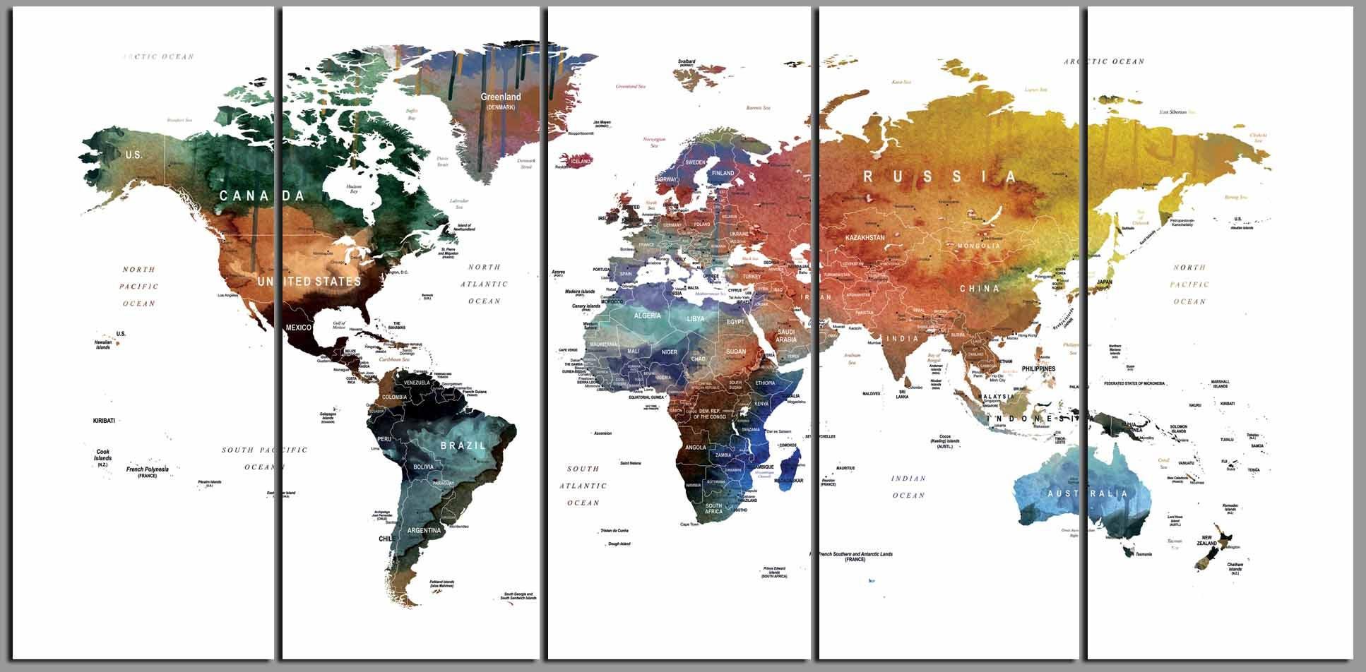 World map canvasworld map wall artworld map watercolorworld map world map canvasworld map wall artworld map watercolorworld map push pinlarge world mapworld map printtravel map large world map art gumiabroncs Choice Image