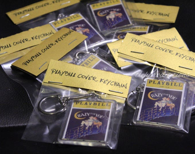 Broadway Musical Keychains