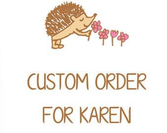 Custom Notepad Order for Karen