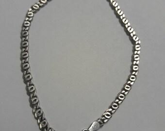 Dainty Sterling Silver Bracelet