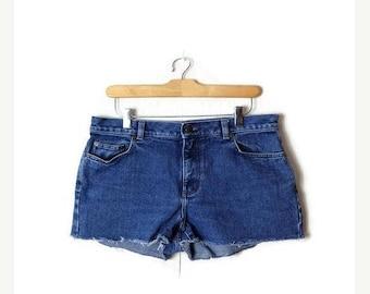 ON SALE Ralph Lauren Denim cut off Shorts from 90's/W32*