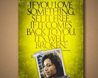 "Grosse Pointe Blank """"Broken"" Quote Poster"