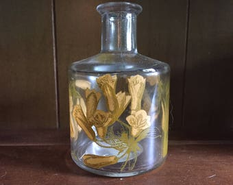 Petite Daisy Glass Vase