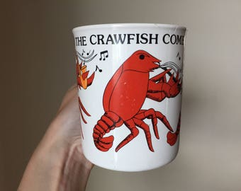 Spunky Crawfish Mug
