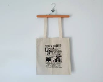 Tote Bag - Screenprint Over Cotton Canvas Tote Bag Factory