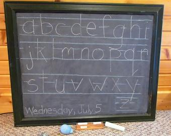 """SALE!! Large Chalkboard 31 3/4"""" x  25 3/4"""""""