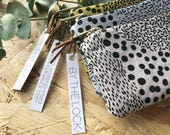 Mustard Yellow Scatter Coin Purse // Custom Listing for Xanthe