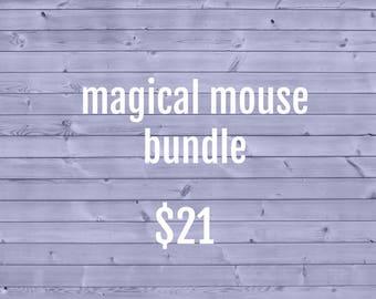 Magical Mouse Cozy Bundle ~ Crochet Coffee Cozy ~ Coffee Cozie