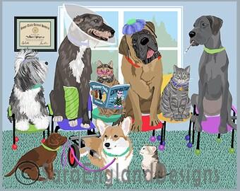 Waiting Room - 21 Wolfhound