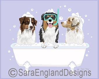 Spa Day - Australian Shepherd