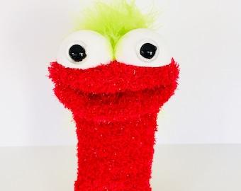 Puppet- sock puppet- hand puppet- present- christmas- gift