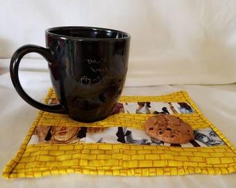 Wizard of Oz mug rug