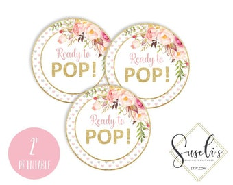 Avery 22807 etsy ready to pop tags blush boho floral baby shower stickers avery 22807 printable favor pronofoot35fo Images