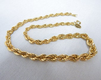 Eisenberg Graduated Rope Chain Necklace