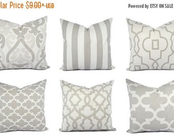 15 off sale grey and white pillow covers grey pillow sham grey throw - Grey Throw Pillows