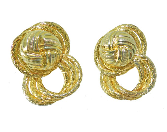 Signed DOMINIQUE AURIENTIS Earrings, Aurientis Statement Earrings, Vintage DoMINIQUE AuRientis Jewelry Jewellery, Gift for Her