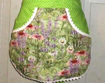 Happy Wildflowers - Clothespin Apron, Gathering Apron, Farmhouse Classic