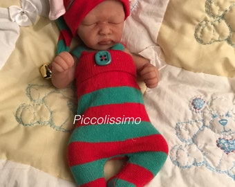 """10"""" Christmas elf outfit"""