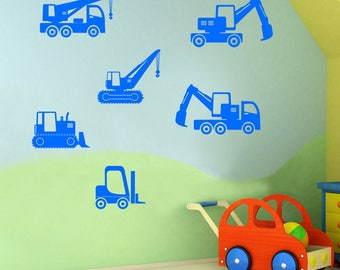 Children's Construction Sticker Set A58