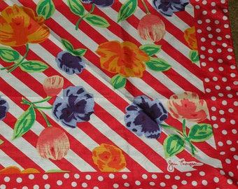 Jim Thompson 34 x 34 Thai silk scarf